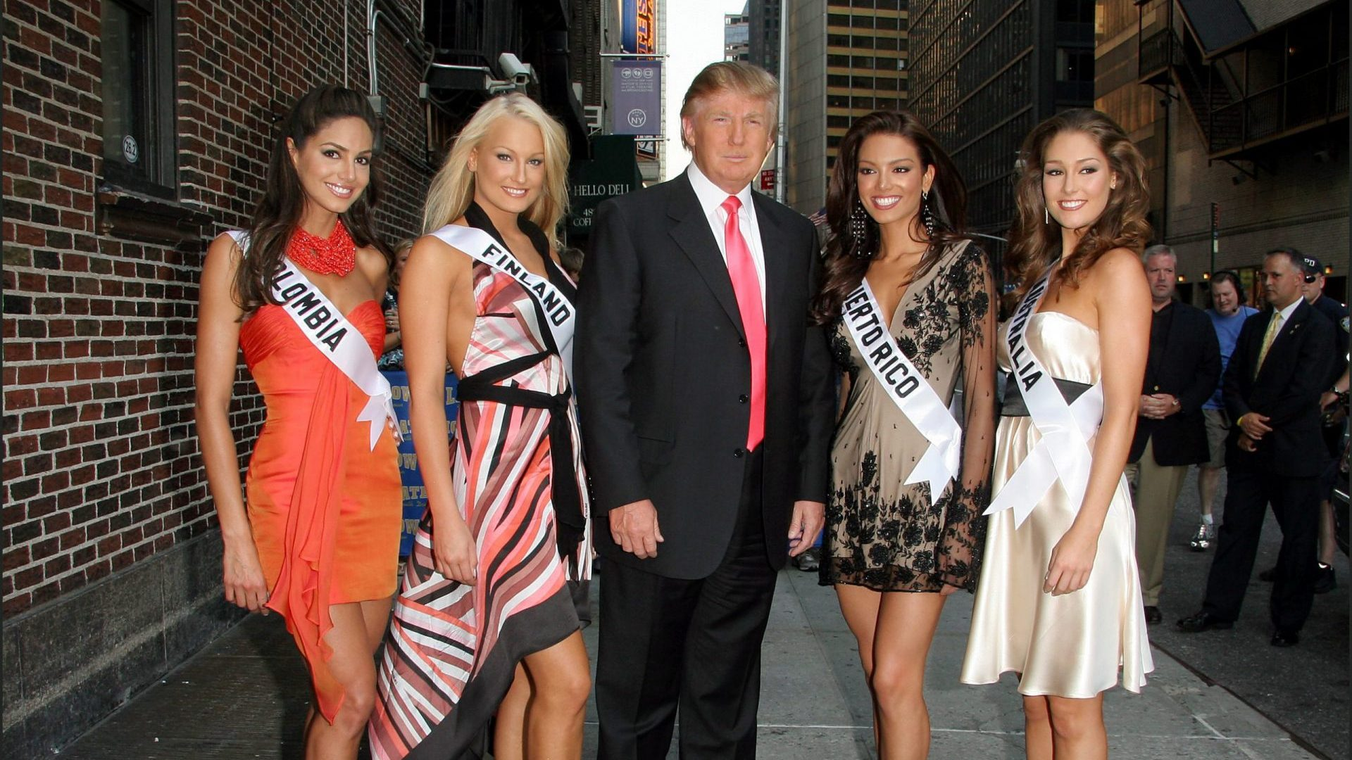 Remember the biggest scandals of the Miss Universe pageant