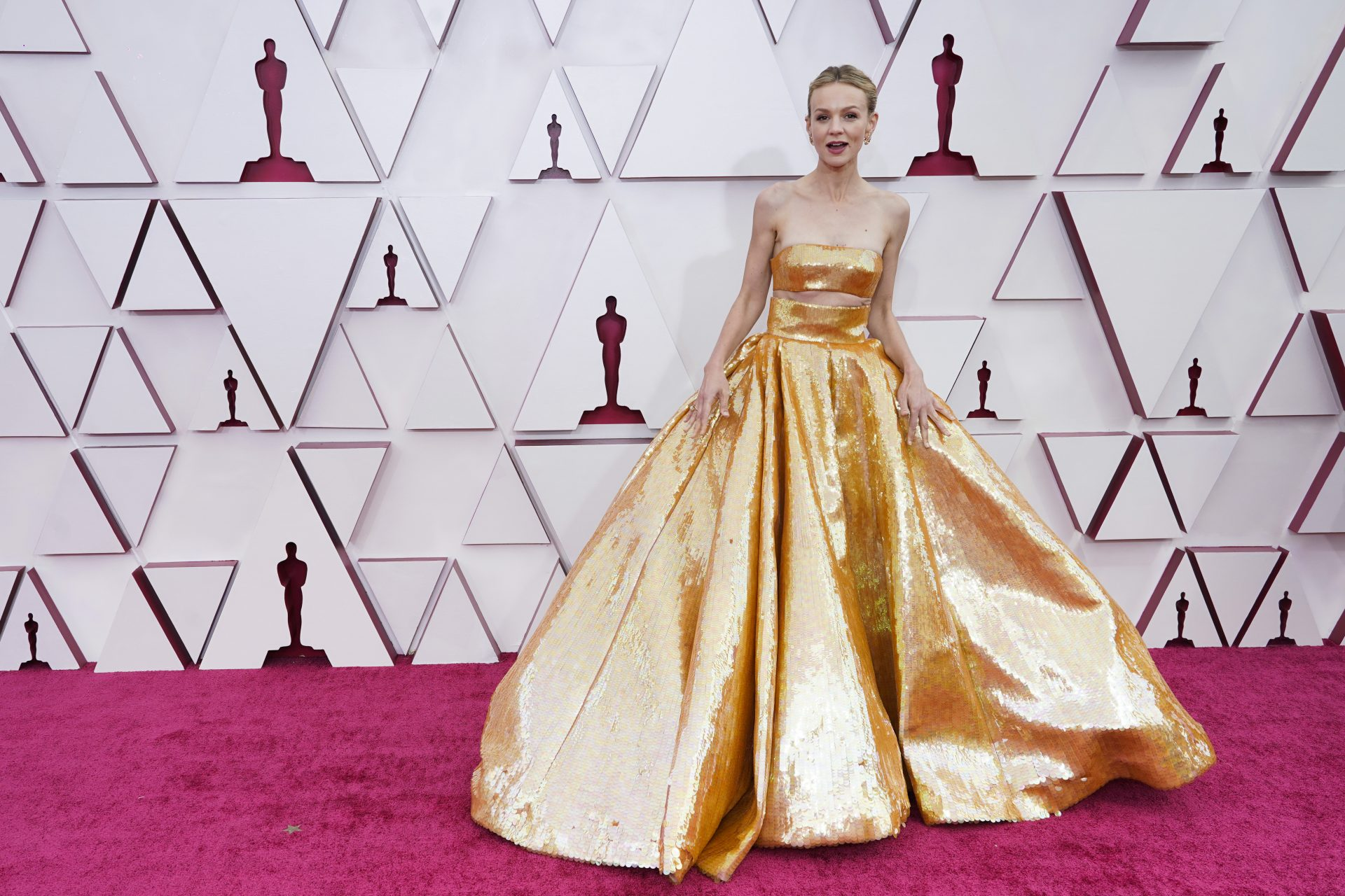 Oscars 2021: the best looks on the red carpet